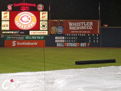 Vancouver Canadians Field Tarp