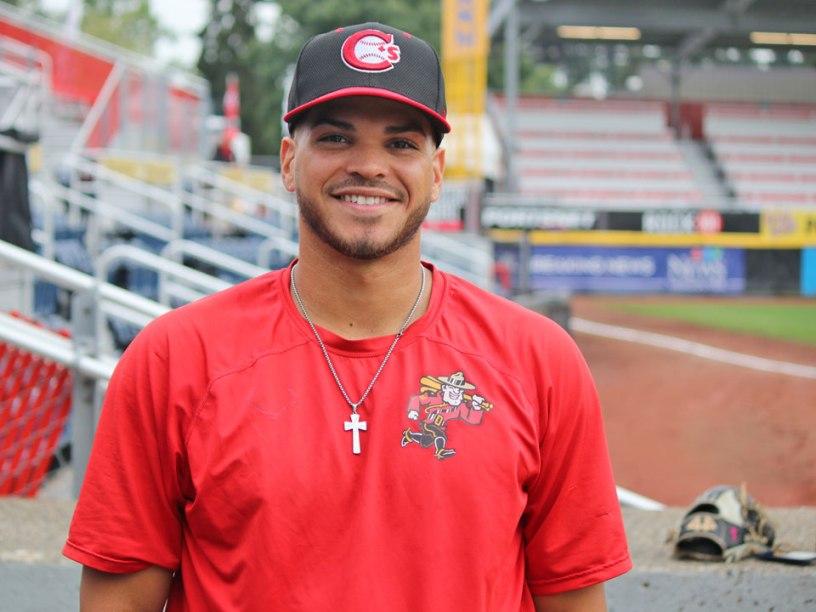 Vancouver Canadians Luis Quinones