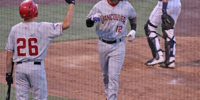 Vancouver Canadians Ronny Brito