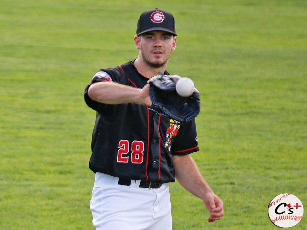 Vancouver Canadians Zach Logue