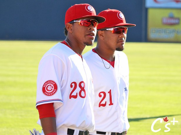 Vancouver Canadians McGregory Contreras Bryan Lizardo