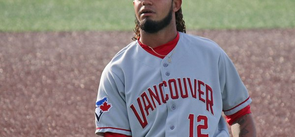 Vancouver Canadians Ronny Brito