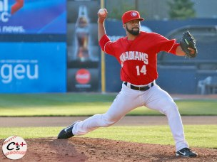 Vancouver Canadians Donnie Sellers