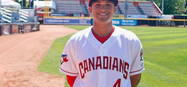 Vancouver Canadians Brandon Polizzi