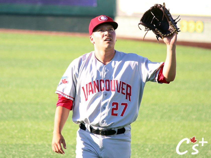Vancouver Canadians Sean Wymer