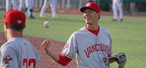 Vancouver Canadians Cameron Eden