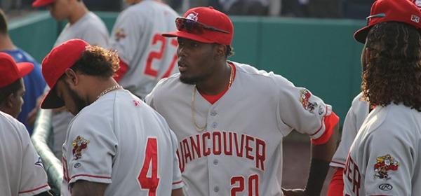 Vancouver Canadians Luis De los Santos