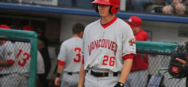 Vancouver Canadians Tanner Morris